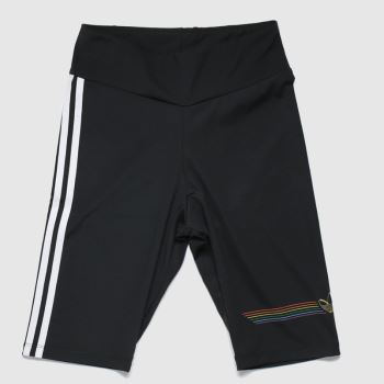 adidas Black Pride Bike Short Womens