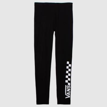 Vans Black & White Chalkboard Legging Womens