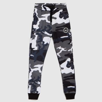 Hype Black & White Boys Jogger Civil Camo Boys