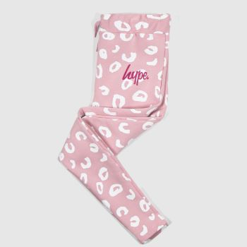 Hype Pale Pink Girls Joggers Girls