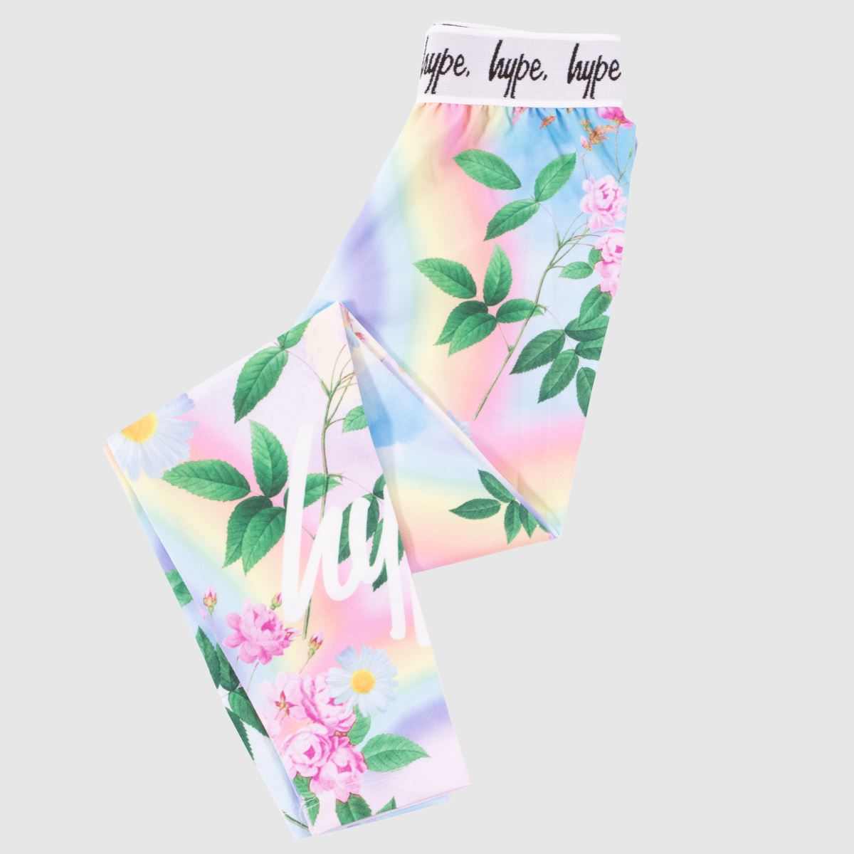 Hype Multi Girls Leggings