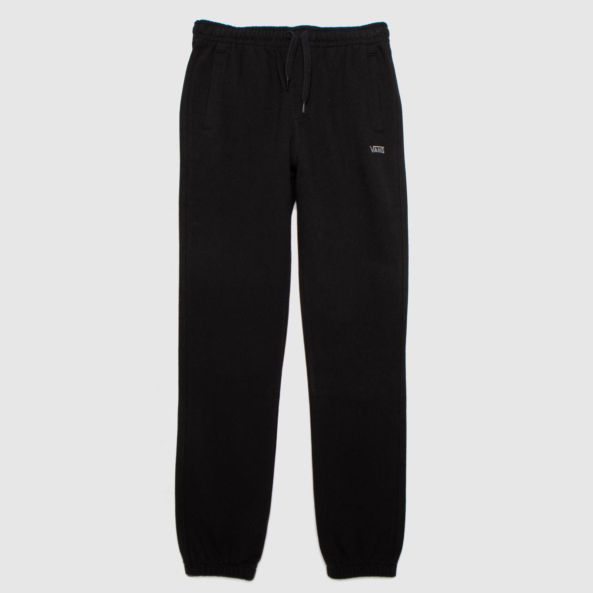 Vans Black Boys Core Fleece Pant