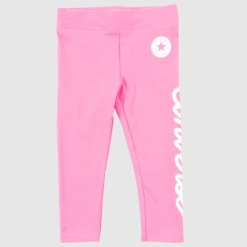 Converse Pink Kids Chuck Patch Legging Girls