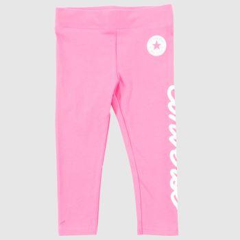 Converse Pink Kids Chuck Patch Legging Girls#