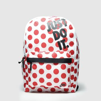 Nike White & Red Elemental Bags