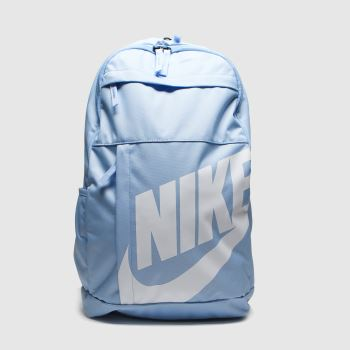 Nike White & Pl Blue Elemental Backpack c2namevalue::Bags#promobundlepennant::£5 OFF
