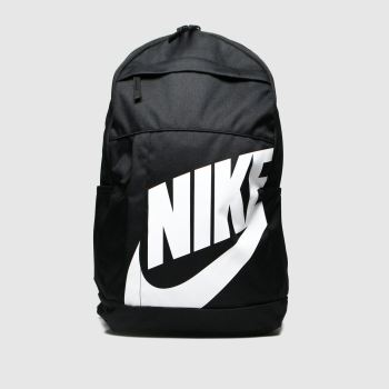 Nike Black & White Elemental Bags#
