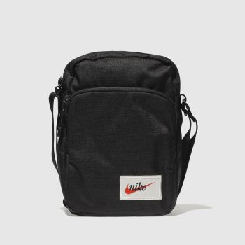 Nike Black & Orange Heritage Bags