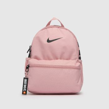 Nike Pale Pink Kids Jdi Brasilia Backpack Bags