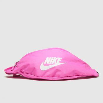 Nike Pink Heritage Hip Pack Bags