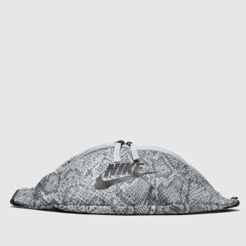 Nike Light Grey Hip Pack Python Bags