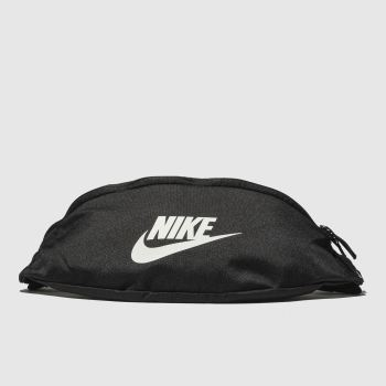 Nike Black Heritage Hip Pack Bags