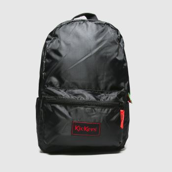 Kickers Black Kids Back Pack Bags