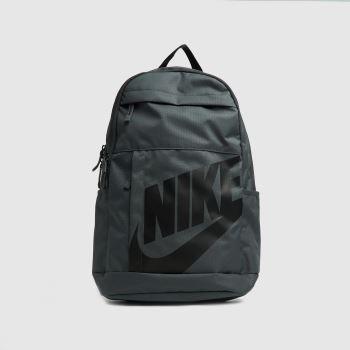 Nike Grey & Black Elemental Backpack Bags