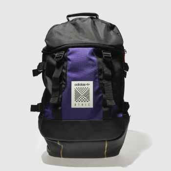 Adidas Black & Purple ATRIC BACKPACK L Bags