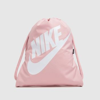 Nike Pale Pink Heritage Drawstring Bag Bags