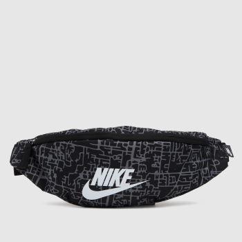 Nike Black & White Heritage Hip Pack Bags