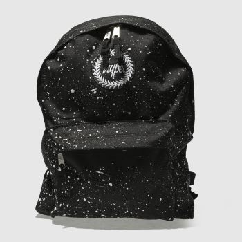 Hype Black Backpack Bags