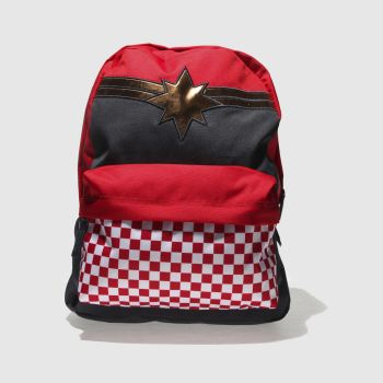 Vans Red Realm Captain Marvel Bags