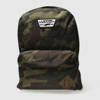 Vans Khaki Old Skool Ii Backpack Bags