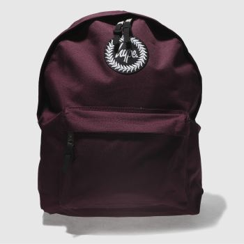 Hype Burgundy BACKPACK Bags