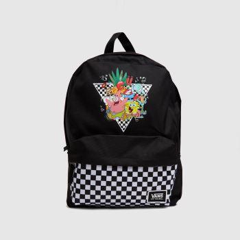 Vans Black Spongebob Realm Backpack Bags