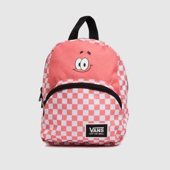Vans White & Pink Spongebob Got This Mini Bags