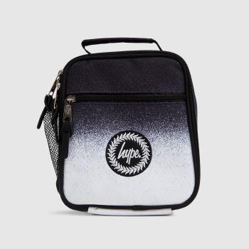 Hype Black & White Mono Speckle Lunch Bag Accessory