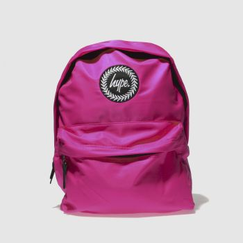 Hype Pink Fluro Pink Backpack Bags