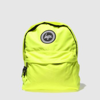 Hype Lime FLURO LIME BACKPACK Bags