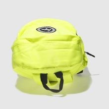 Hype fluro lime backpack 1