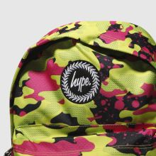 Hype fluro splash camo backpack 1