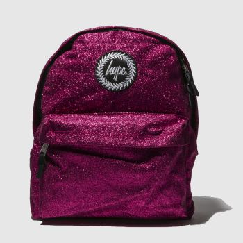 Hype Pink PINK GLITTER BACKPACK Bags