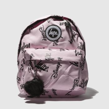 Hype Pink & Black Disney Squad Backpack Bags