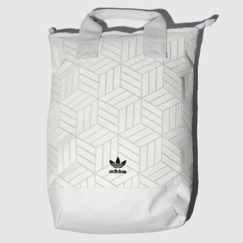 Adidas White Roll Top 3D Bags
