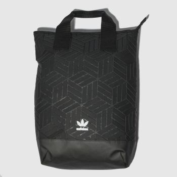 Adidas Black ROLL TOP 3D Bags