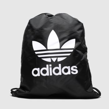 Adidas Black & White Gymsack Trefoil c2namevalue::Bags