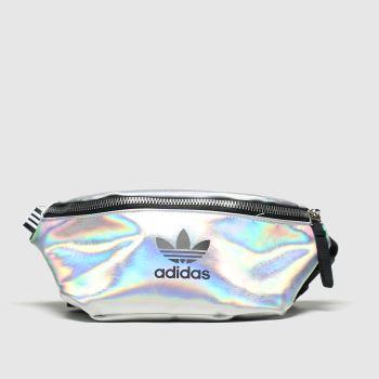 accessories adidas silver waistbag