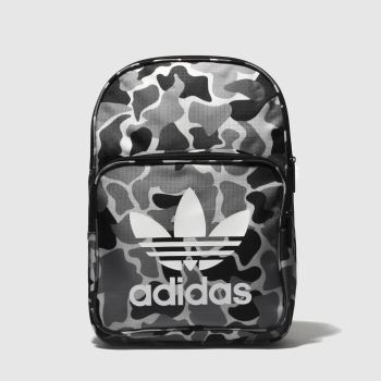 Adidas Grey & Black Classic Backpack Bags