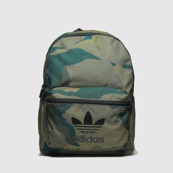 Adidas Khaki Camoflage Classic Bags