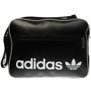 6bdcd548f3e9 ACCESSORIES ADIDAS BLACK   WHITE VINTAGE AIRLINER