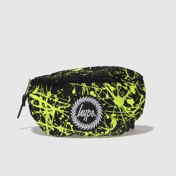 ACCESSORIES HYPE BLACK   GREEN BUMBAG f0f7999e838eb
