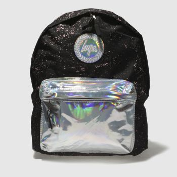 Hype Black & Silver BACKPACK Bags