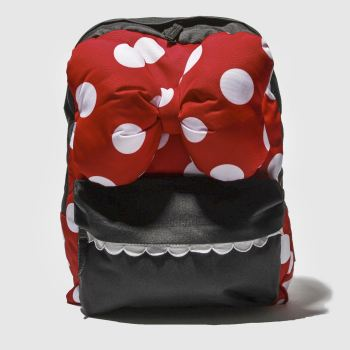 Vans Red Minnie Checkerboard Realm Bags