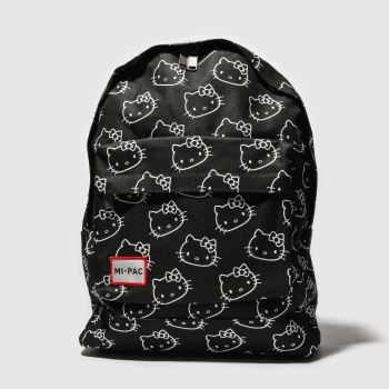 Mi Pac Black & White HELLO KITTY X STAMPS Bags