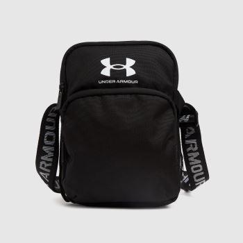 Under Armour Black & White Loudon Crossbody Bags