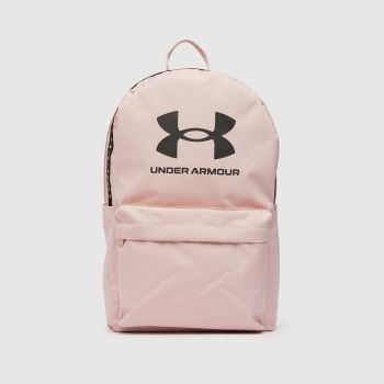 Under Armour Pale Pink Loudon Backpack Bags