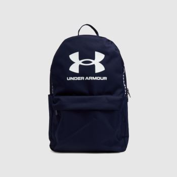 Under Armour Navy & White Loudon Backpack Bags