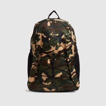 Under Armour Khaki Hustle Sport Backpack Bags
