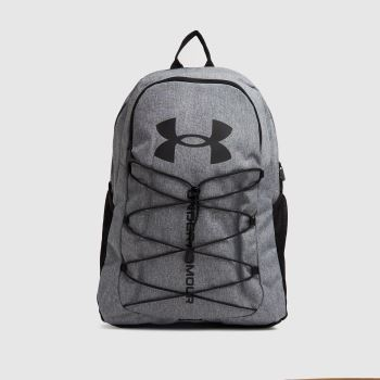 Under Armour Grey Hustle Sport Backpack Bags
